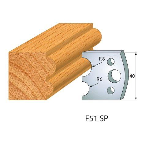 Profilmesser bzw. Abweiser Nr.51 | BG-konform - 40 mm