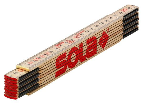 SOLA Schwedenmeter Meterstab Zollstock