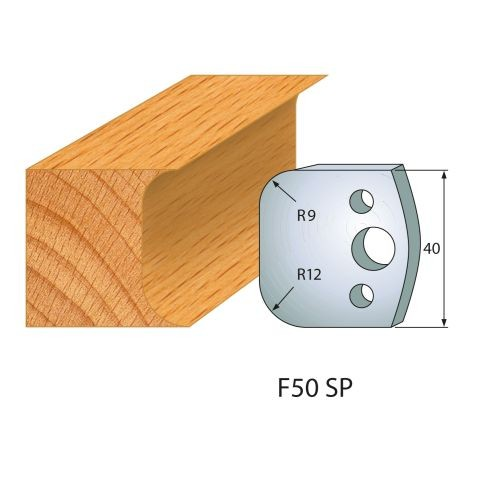 Profilmesser bzw. Abweiser Nr.50 | BG-konform - 40 mm