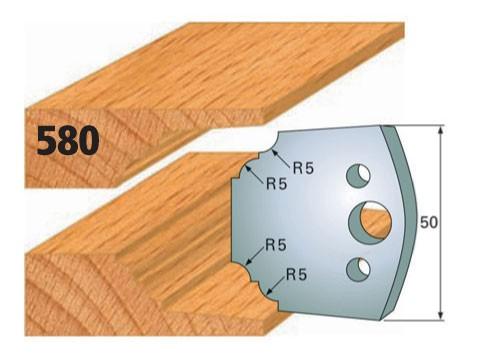 Profilmesser bzw. Abweiser Nr. 580 | 50 mm