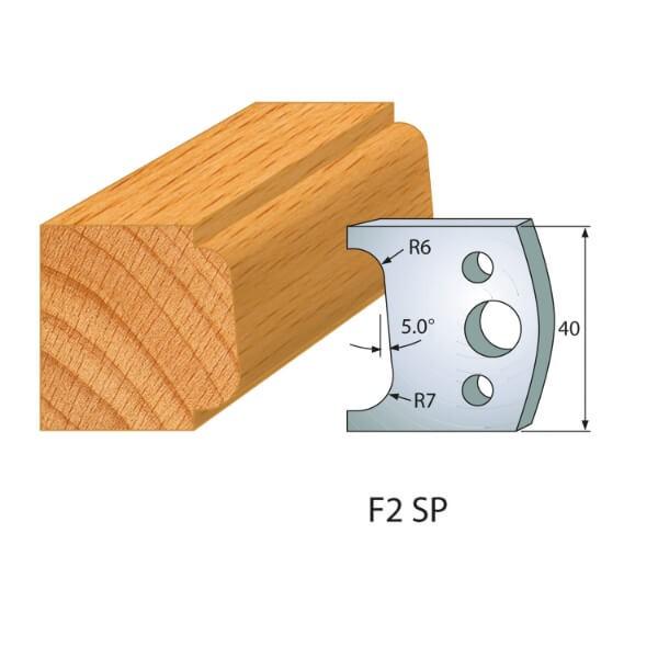 Profilmesser bzw. Abweiser Nr.2   BG-konform- 40mm
