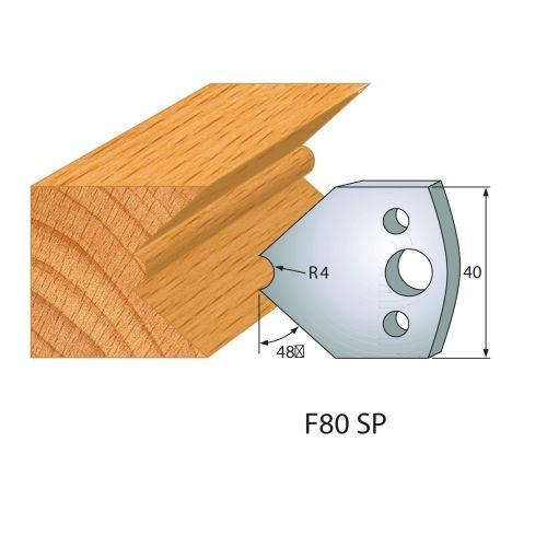 Profilmesser bzw. Abweiser Nr.80 | BG-konform - 40 mm