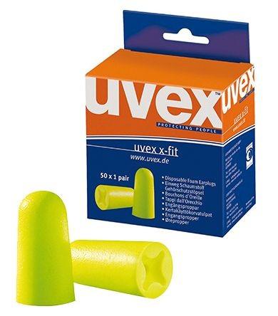 Einweg-Gehörstöpsel UVEX