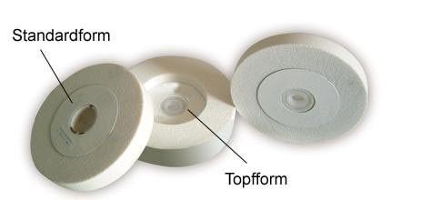 Edelkorundscheiben K60 | Ø 200 mm für Schleifmaschinen