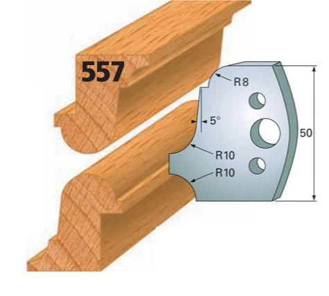 Profilmesser bzw. Abweiser Nr. 557   50 mm