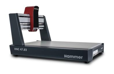 Hammer CNC-Portalfräse HNC 47.82 | 4-Achs Aufnahme 43mm