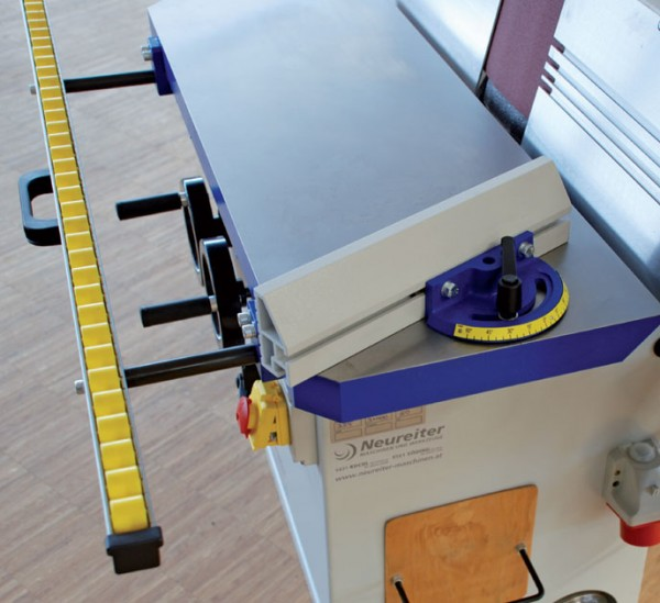 Winkelanschlag für KSM 3000 F Kantenschleifmaschine