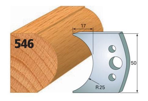 Profilmesser bzw. Abweiser Nr. 546 | 50 mm