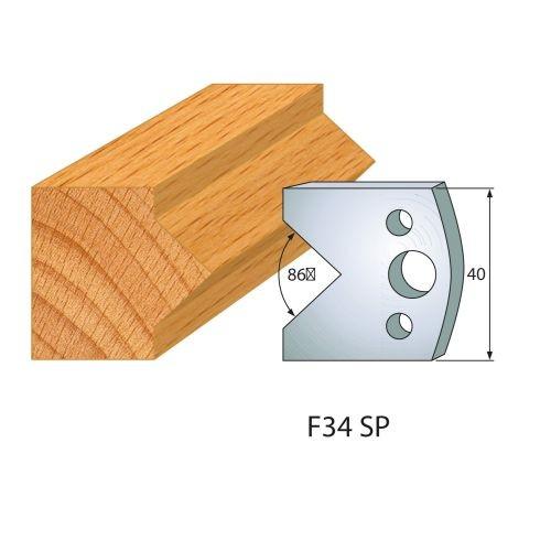 Profilmesser bzw. Abweiser Nr.34 | BG-konform - 40 mm
