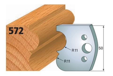 Profilmesser bzw. Abweiser Nr. 572 | 50 mm