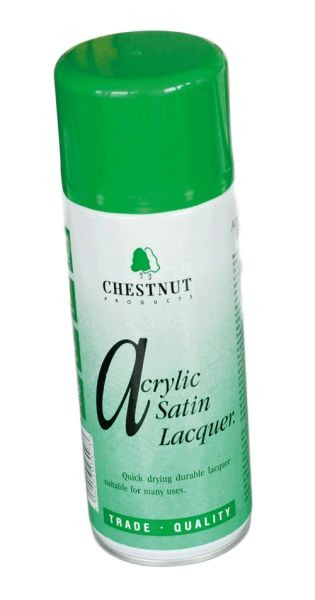 CHESTNUT Acrylic Satin Lacquer 400 ml Spraydose