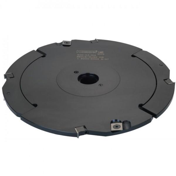 WPL-HW-Verstell-Schlitzfräser Tiefe 80 mm, Industrie-Ausführung