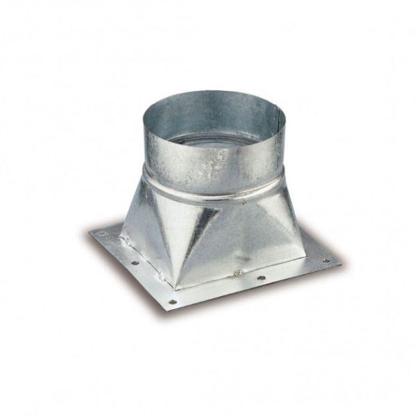 Ausblasstutzen rund D=160 mm für Absauggebläse G4A