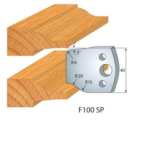 Profilmesser bzw. Abweiser Nr.210 | BG-konform - 40 mm