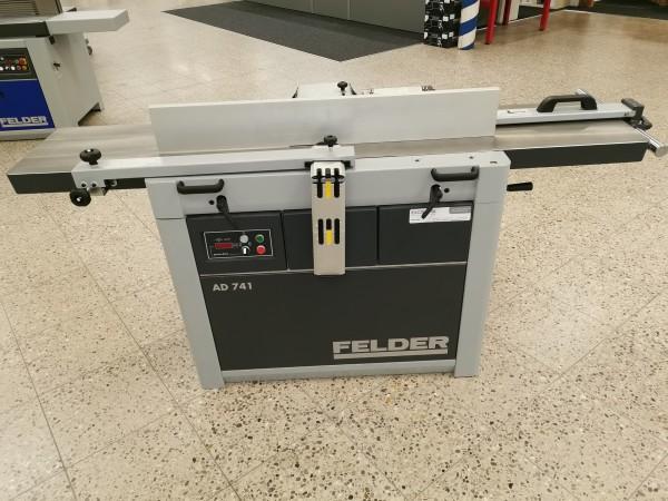 Felder Abricht-Dickenhobelmaschine AD 741 mit Silent Power Spiral Hobelwelle