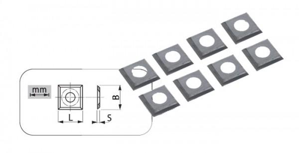 WPL-HW-Hauptschneiden mit 4 Schneidfasen