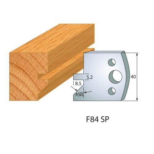 Profilmesser bzw. Abweiser Nr.84 | BG-konform - 40 mm