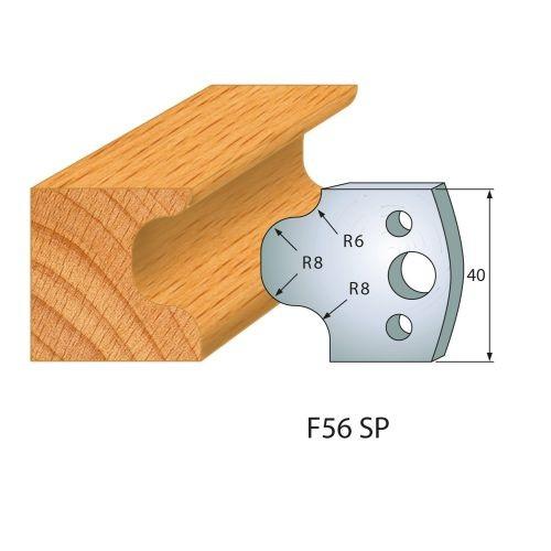 Profilmesser bzw. Abweiser Nr.56 | BG-konform - 40 mm