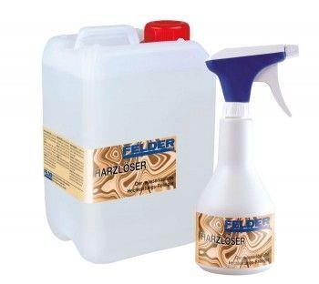SET-Angebot FELDER® Harzlöser Sprühflasche 0,5 l und Nachfüllpackung 3 l