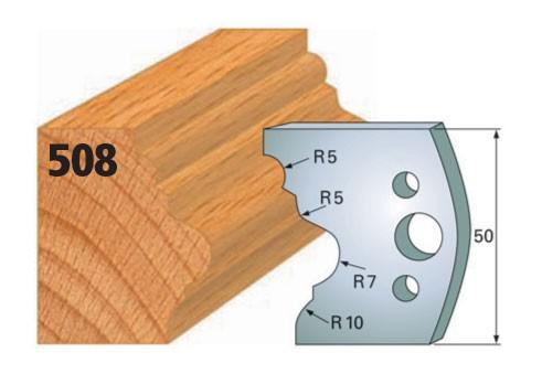 Profilmesser bzw. Abweiser Nr. 508 | 50 mm