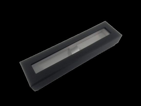 Kugelschreiberbox schwarz (für 1 Stift)