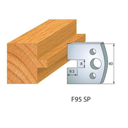 Profilmesser bzw. Abweiser Nr.95 | BG-konform - 40 mm