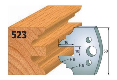 Profilmesser bzw. Abweiser Nr. 523 | 50 mm