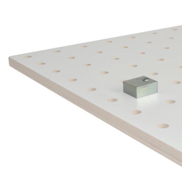 Barth Anschlagblock für Lochplatte 65 x 60 x 30 mm