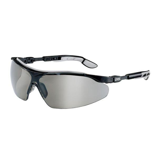 UVEX® Schutzbrille i-vo schwarz-grau/PC grau-Sonnenschutz UV 5–2,5
