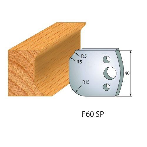 Profilmesser bzw. Abweiser Nr.60 | BG-konform - 40 mm