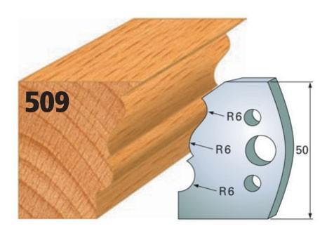 Profilmesser bzw. Abweiser Nr. 509 | 50 mm