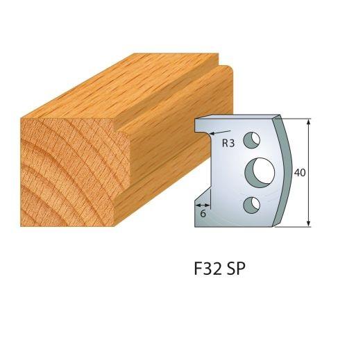 Profilmesser bzw. Abweiser Nr.32 | BG-konform - 40 mm