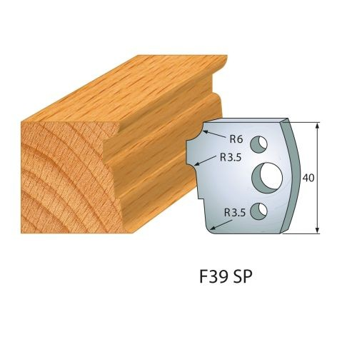 Profilmesser bzw. Abweiser Nr.39 | BG-konform - 40 mm