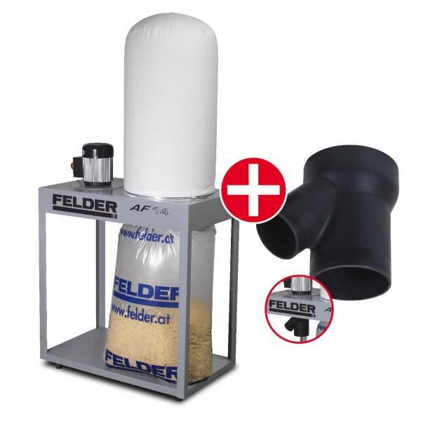 SET-Angebot FELDER® AF 14, Mobiles Absauggerät und Verteiler