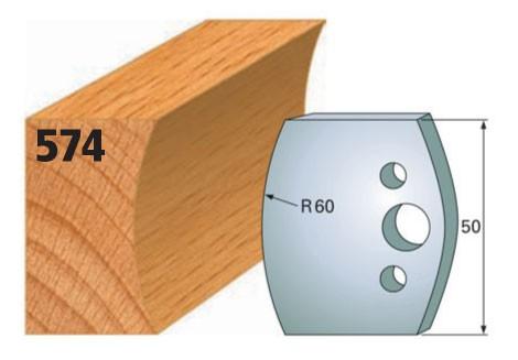 Profilmesser bzw. Abweiser Nr. 574   50 mm