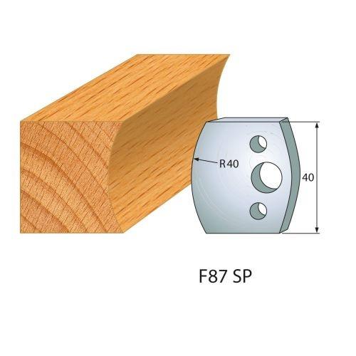 Profilmesser bzw. Abweiser Nr.87 | BG-konform - 40 mm