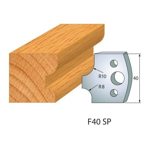 Profilmesser bzw. Abweiser Nr.40 | BG-konform - 40 mm