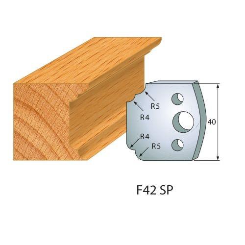 Profilmesser bzw. Abweiser Nr.42   BG-konform - 40 mm