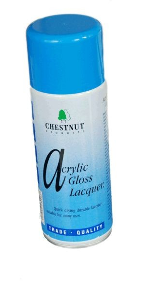 CHESTNUT Acrylic Gloss Lacquer 400 ml Spraydose