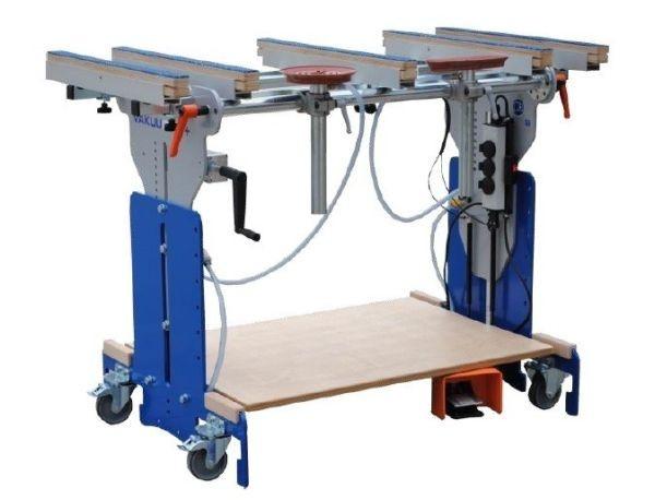 VakuuCar® v1.6 easymotion Höhenverstellung mit Handkurbel