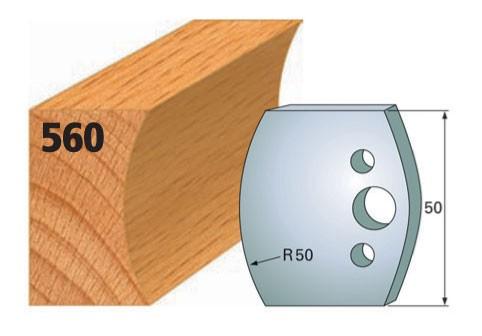 Profilmesser bzw. Abweiser Nr. 560 | 50 mm
