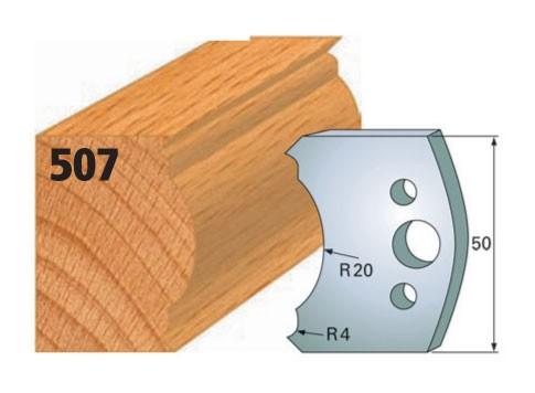 Profilmesser bzw. Abweiser Nr. 507   50 mm