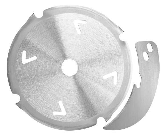 Mafell Diamantsägeblatt - Set 160 x 2,4/3,0 x 20 mm, Z 4, inkl. Spaltkeil