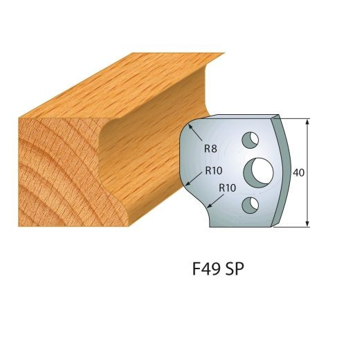 Profilmesser bzw. Abweiser Nr.49   BG-konform - 40 mm