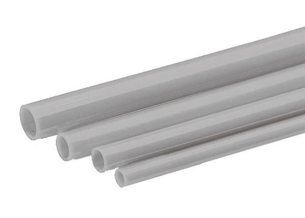Rohrleitungen (PA) grau - 25 m Rolle