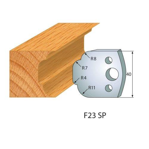 Profilmesser bzw. Abweiser Nr.23 | BG-konform- 40mm