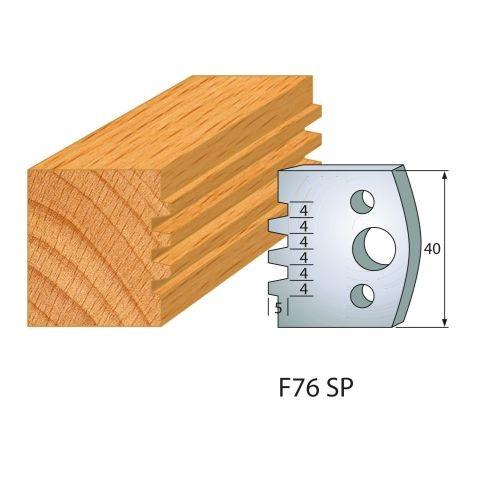 Profilmesser bzw. Abweiser Nr.76 | BG-konform - 40 mm