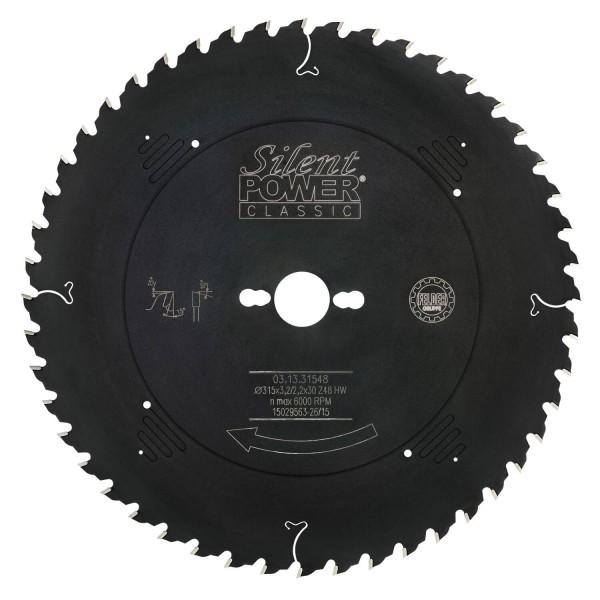 Universal-Sägeblatt, Wechselzahn Ø 315 mm, Z 48