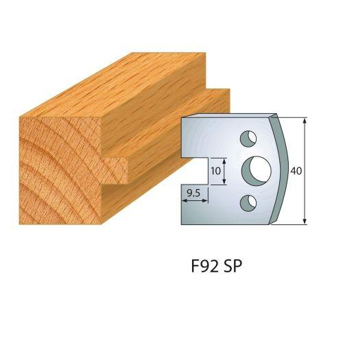 Profilmesser bzw. Abweiser Nr.92 | BG-konform - 40 mm