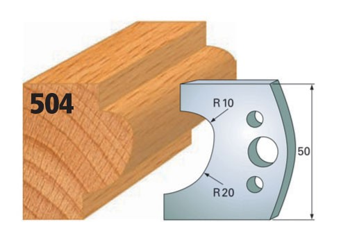 Profilmesser bzw. Abweiser Nr. 504 | 50 mm